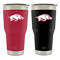 NCAA 30oz Tumbler 2 pk. -Arkansas