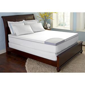 comforzen gelfuse gel memory foam 2 5 mattress topper cal king auctions. Black Bedroom Furniture Sets. Home Design Ideas