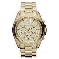 Michael Kors Bradshaw Gold-Tone Stainless Steel Women's Watch