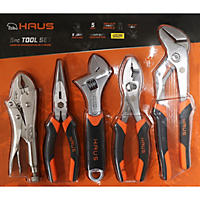 Haus 5 Piece Pliers & Wrench Set