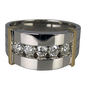 Men's .75 ct. t.w. Diamond Ring