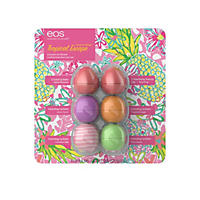 eos Tropical Escape Collection Moisturizing Lip Balm Variety Pack  (0.25 oz, 6 ct.)