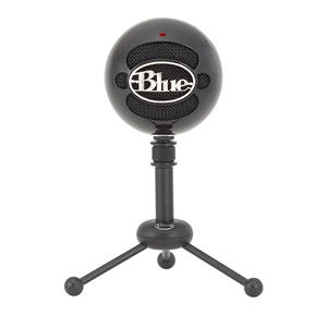 Blue Microphones Snowball USB Condenser Microphone, Black