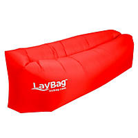 LayBag Inflatable Air Lounge - Ruby