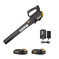 Worx Two Speed 360 CFM 20V Li-ion Turbine Blower