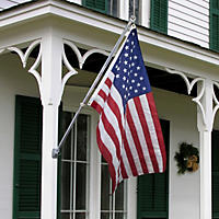 Betsy Flags, 3'x5' Nylon American Flag Kit, Product of Valley Forge Flag