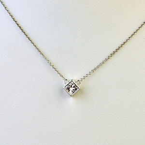 cut princess ct white w gold necklace solitaire t in shop s diamond pendant main macy fpx product image