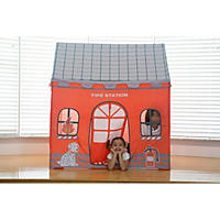 Kids' Pop-Up Playhouse Tent, Fire Station