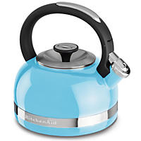 KitchenAid 2-Qt. Kettle with Full Handle and Trim Band, Blue