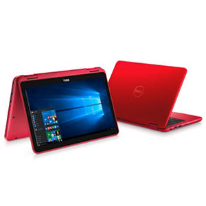 "Dell 2-in-1 Convertible Touchscreen 11.6"" Notebook, Intel Core m3-7Y30 Processor, 4GB Memory, 500GB Hard Drive, Windows 10, Available in (various colors)"