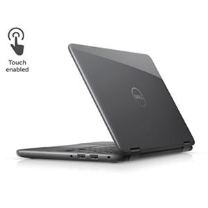 "Dell 2-in-1 Convertible Touchscreen 11.6"" Notebook, Intel Core m3-6Y30 Processor, 4GB Memory, 500GB Hard Drive, Windows 10, Available in Grey"