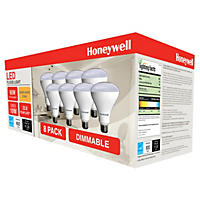 Honeywell 11 Watt BR30 LED Dimmable Bulb Set (8-pack)