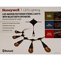 Bt String Light 36 Ft W/Speaker