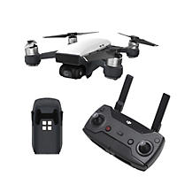 DJI Spark Drone with Remote and Extra Battery Flymore Bundle