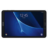 SAMSUNG 10.1'' Galaxy Tab A 16GB Android 6.0 WiFi Tablet with 32GB MicroSD Card Included - Black - SM-T580NZKMXAR