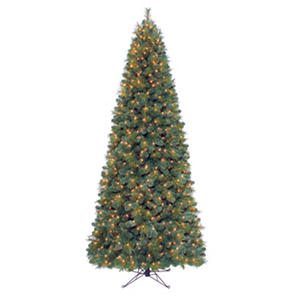 9 Windsor Fir Pre Lit Slim Quick Set 174 Tree Samsclub Com