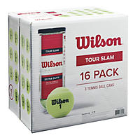 Wilson Tour Slam Tennis Balls (16-can pack)