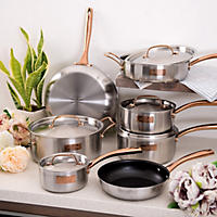 Fleischer and Wolf London Tri-ply 12pc cookware set