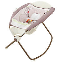 Fisher-Price My Little Snugabear Newborn Rock 'n Play Sleeper, Forest