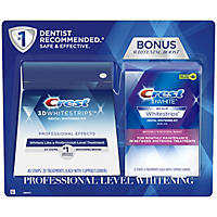 Crest 3D White Whitestrips Professional Effects + Crest 3D White Whitestrips 1 Hour Express (48 ct.)