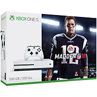 Xbox One S 500GB Madden NFL 18 Bundle