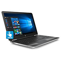 "HP Pavilion Touchscreen HD 15.6"" Notebook 15-au057cl, Intel Core i5-6200U DC Processor, 8GB Memory, 1TB Hard Drive, Windows 10, Natural Silver 15-au057cl"