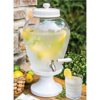 Glass Bev Dispenser 2.5 Gallons