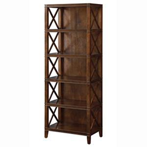 Providence Open Shelf Bookcase, Chestnut (24