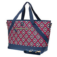 Dabney Lee Insulated Picnic Tote, Diamond