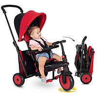 SmarTrike STR3 Plus - Red Folding 6 in 1 Tricycle - 10 to 36 Months