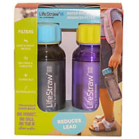 Lifestraw 2 Pk. Playbottles w/ Straws