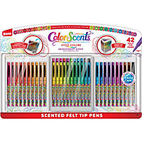 Color Scents Felttip 42ct Deluxe Set