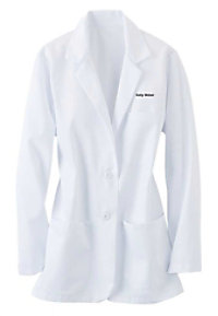 Fashion Seal ladies consultation lab coat.