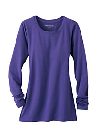 Beyond Scrubs Solid Long Sleeve Underscrub Tees