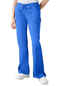 Landau Twill Collection boot-cut scrub pant.
