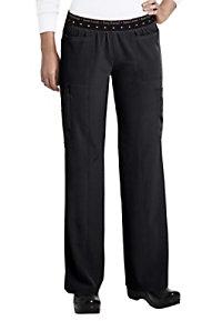 HeartSoul elastic cargo scrub pants.