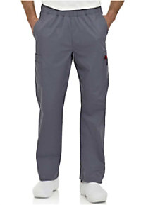 Landau Mens Stretch Contemporary Fit Cargo Scrub Pants