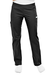 Landau Bliss stretch drawstring cargo scrub pants.