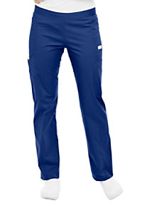 Landau Bliss stretch drawstring cargo scrub pant.