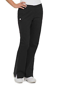 Landau Smart Stretch 5 Pocket Flare Cargo Scrub Pants