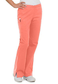 Landau Smart Stretch 5 pocket flare cargo scrub pant.