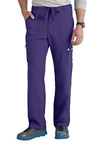 Greys Anatomy Mens 6 Pocket Drawstring Waist Scrub Pant