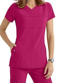 Greys Anatomy Signature 2-Pocket v-neck scrub top.