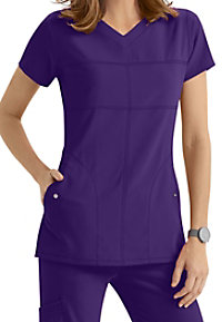 Greys Anatomy Signature 2-Pocket v-neck scrub top.