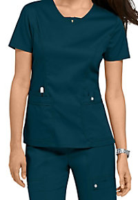 Cherokee Luxe v-neck scrub top.