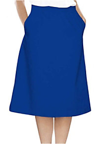 Landau A-line scrub skirt.