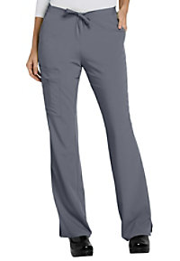 Jockey drawstring zipper pocket cargo scrub pant.