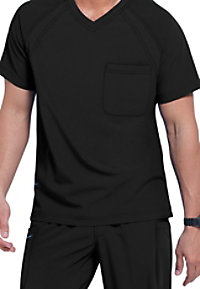 Jockey Men's 3-pocket V-neck Scrub Tops