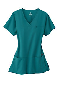 Jockey Crossover 4-pocket Scrub Tops