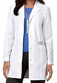 Cherokee classic lab coat with Certainty.